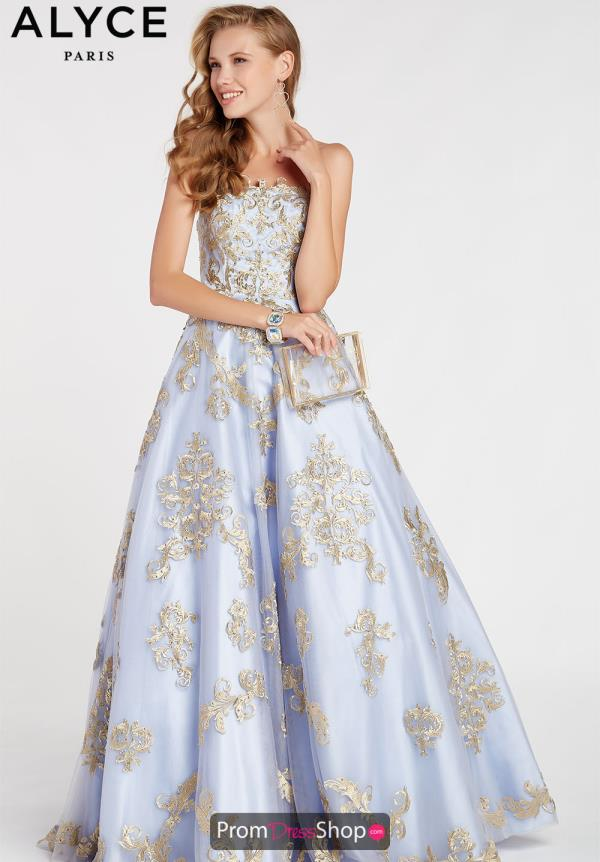 Alyce Paris Beaded Ball Gown 60396