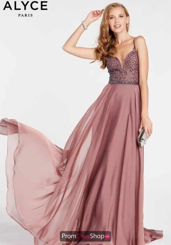 Alyce Paris Beaded Long Dress 60546