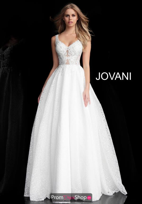 Jovani Lace Ball Gown 64105