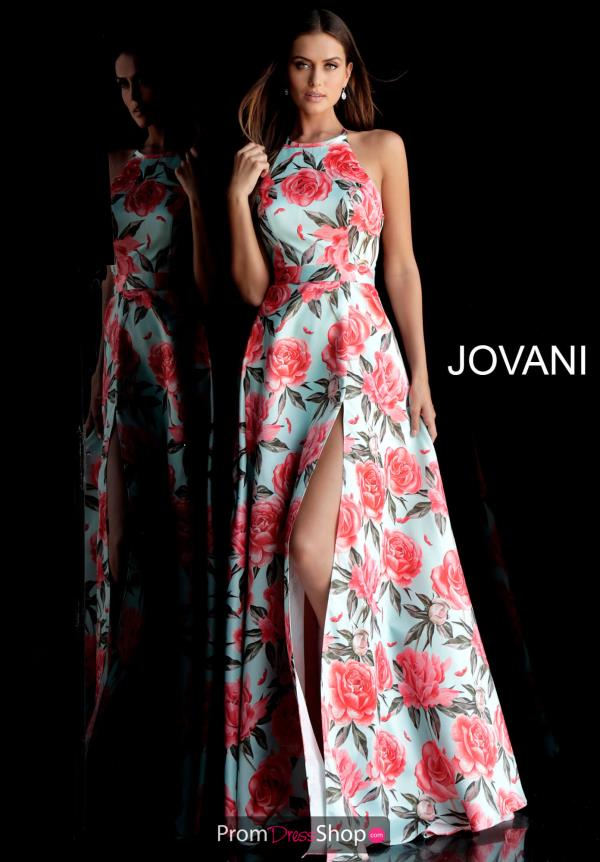 Jovani Full Figured Sexy Back Dress 67043