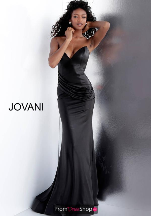 Jovani Strapless Fitted Dress 67306