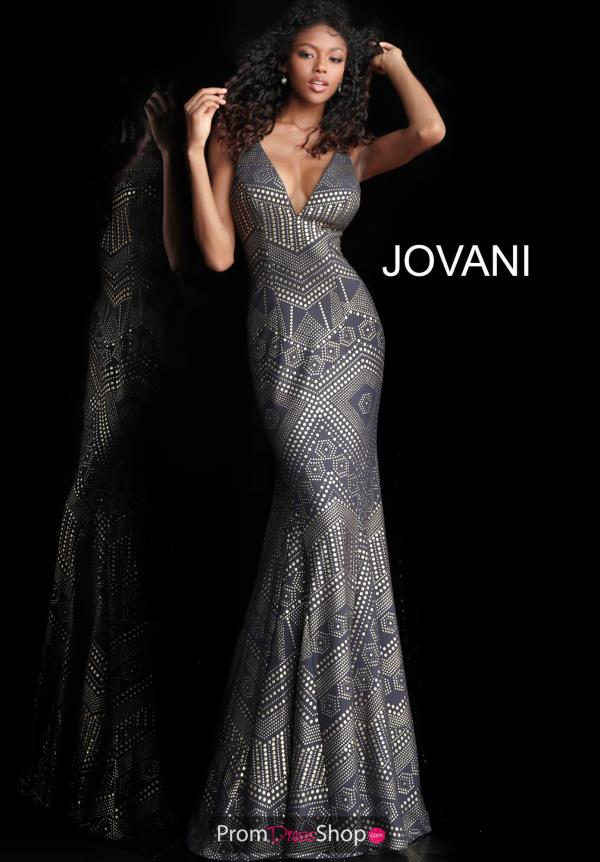 Jovani Beaded Long Dress 67844