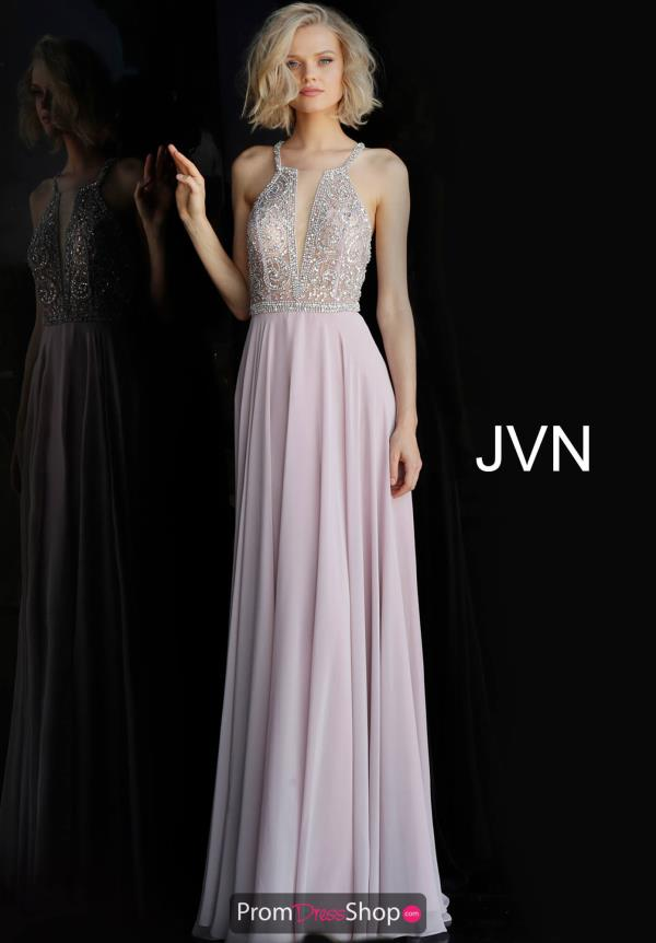 JVN by Jovani Long Chiffon Dress JVN66050