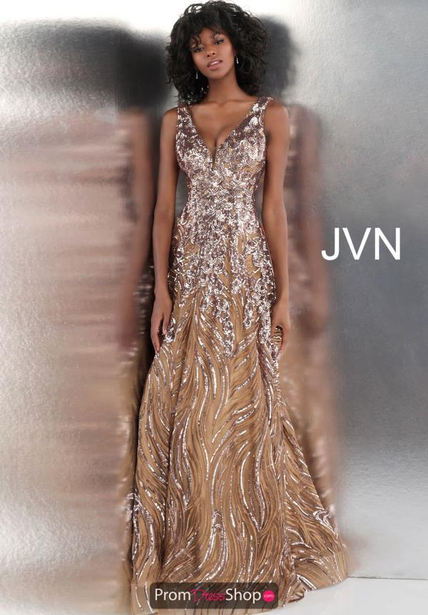 JVN by Jovani Long Beaded Dress JVN66727