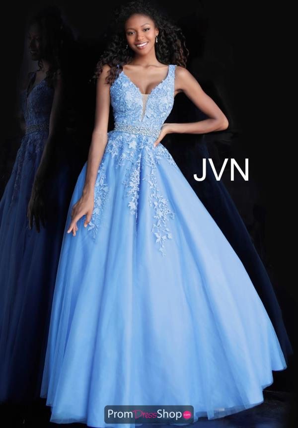 JVN by Jovani Lace A Line Dress JVN68258