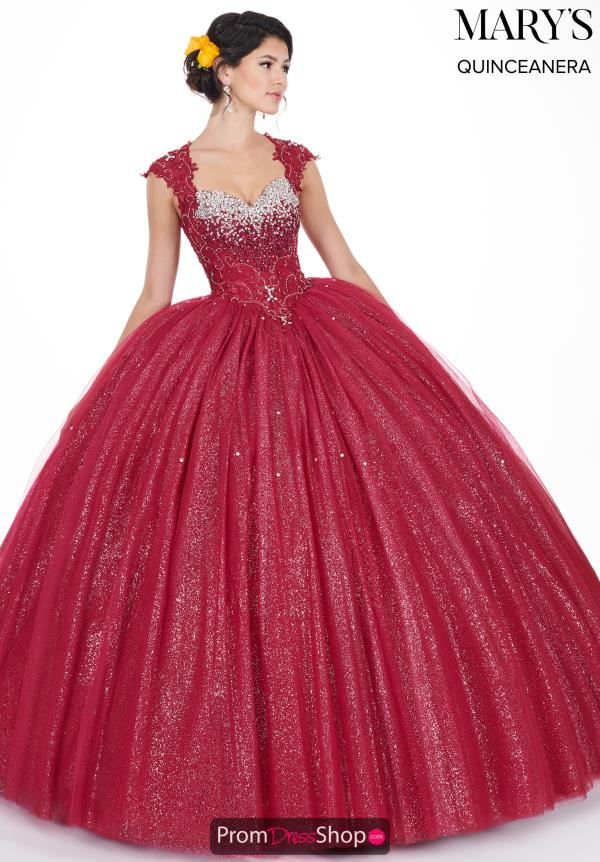 Mary's Beaded Ball Gown MQ1031