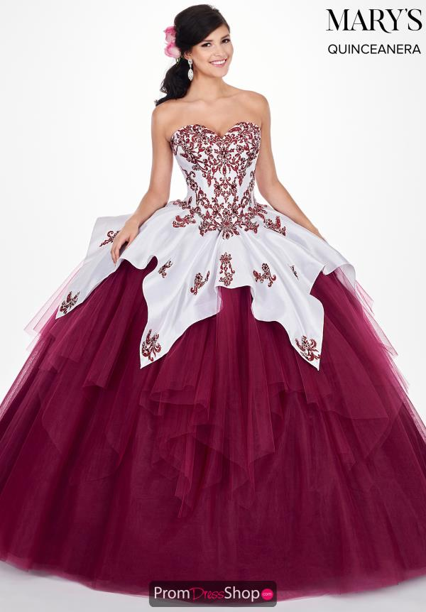 Mary's Strapless Ball Gown MQ2056