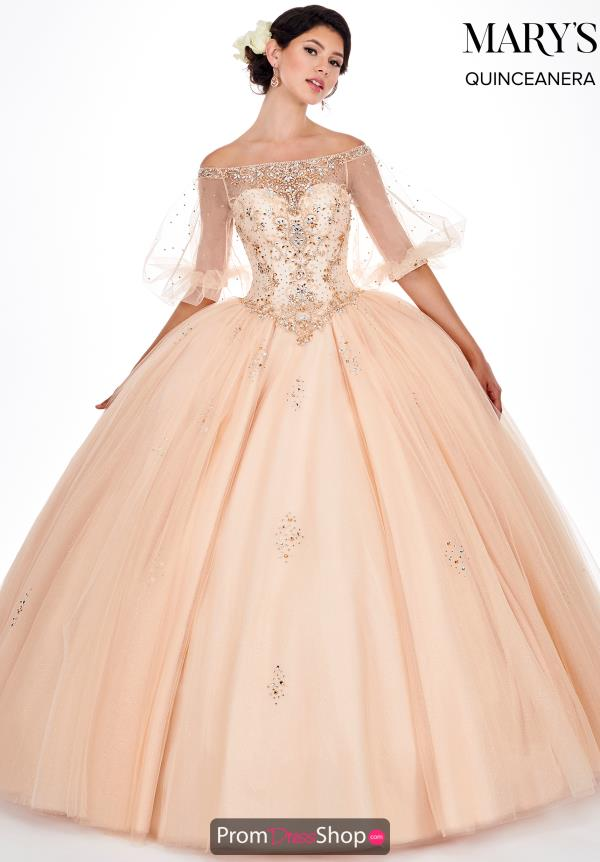 Mary's Off the Shoulder Ball Gown MQ2058
