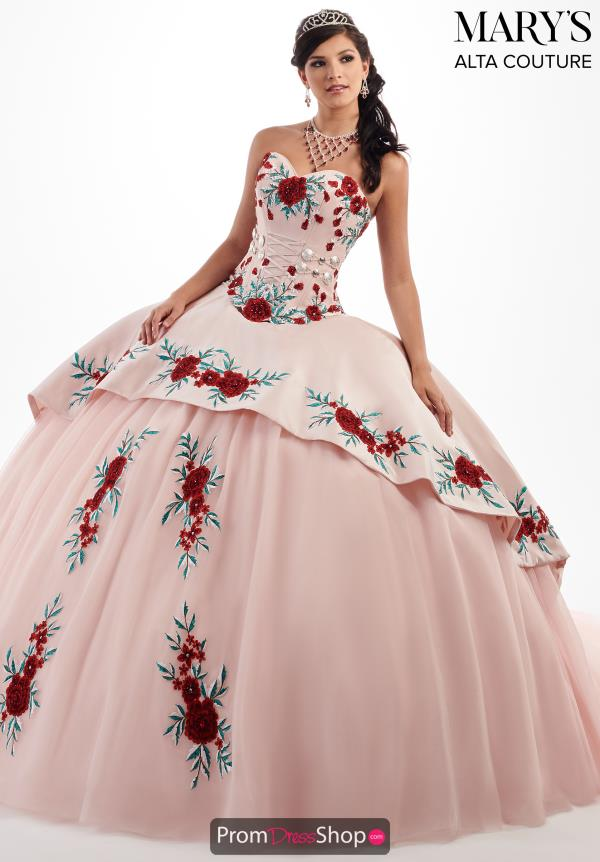 Mary's Strapless Ball Gown MQ3024
