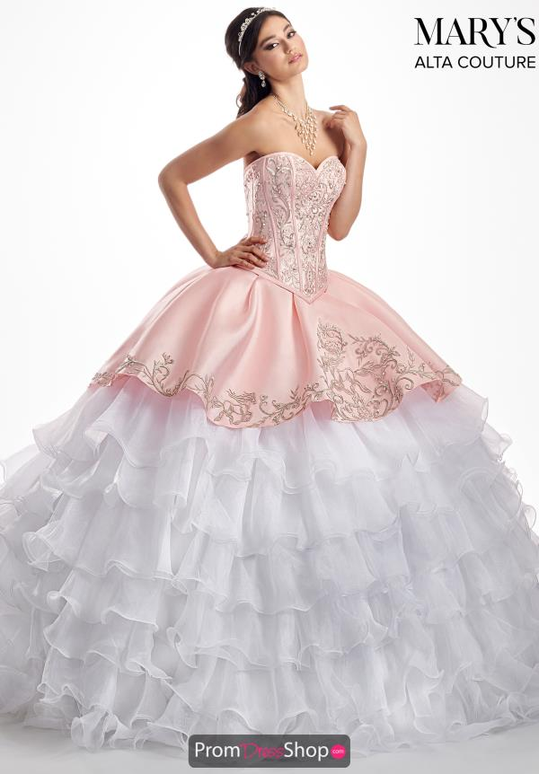 Mary's Lace Back Ball Gown MQ3026