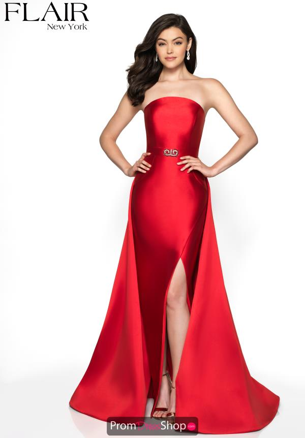 Flair Beaded Fitted Dress 19089