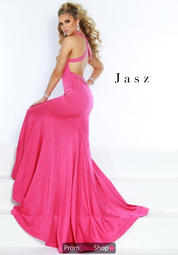 Jasz Couture Long Fitted Dress 6402A