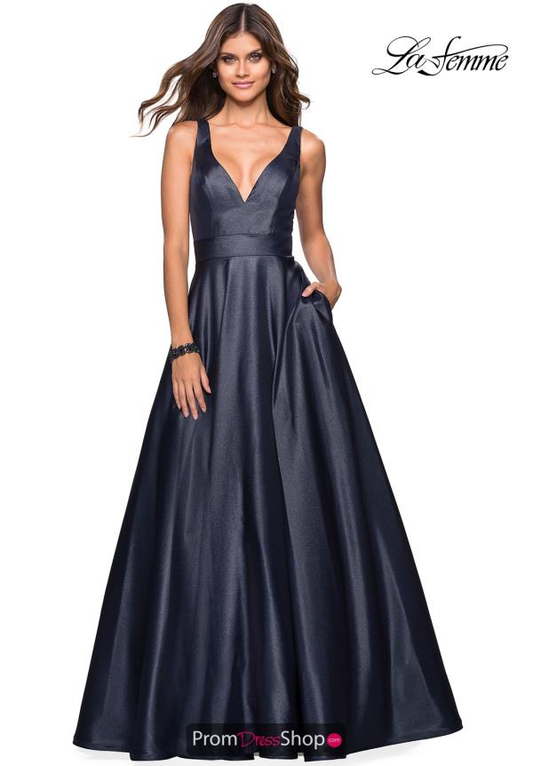 Gigi V- Neckline A Line Dress 27202