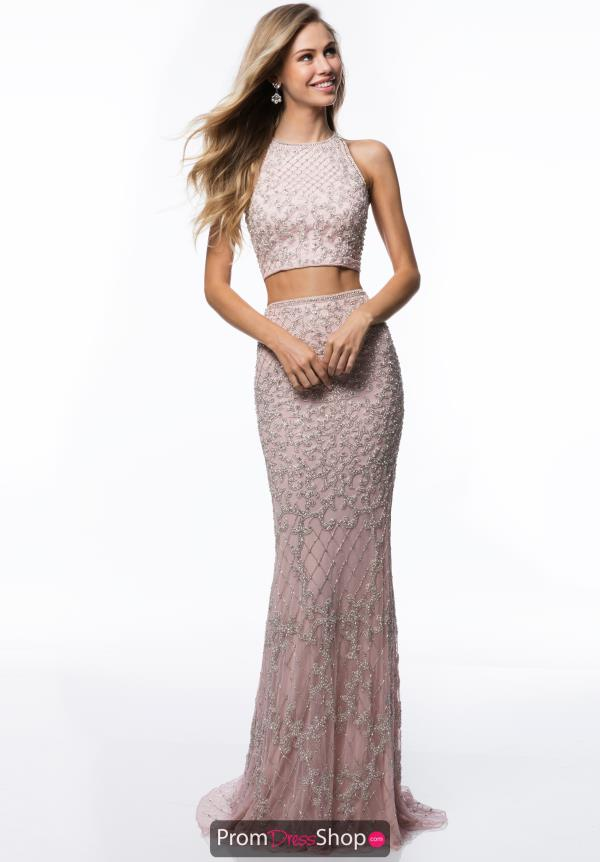 Sherri Hill Long Fitted Dress 52088