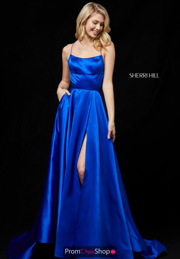 Sherri Hill Long A Line Dress 52095