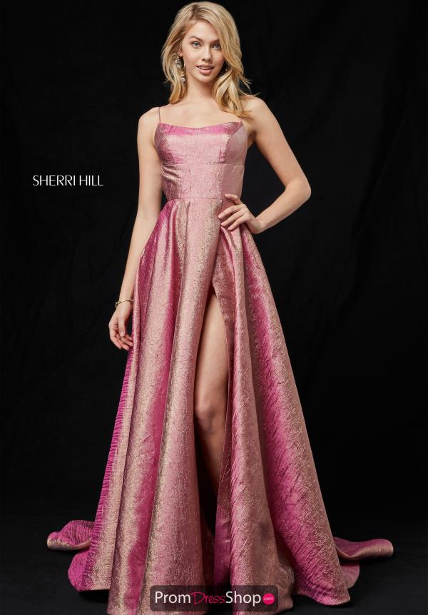 Sherri Hill Long A Line Dress 52140