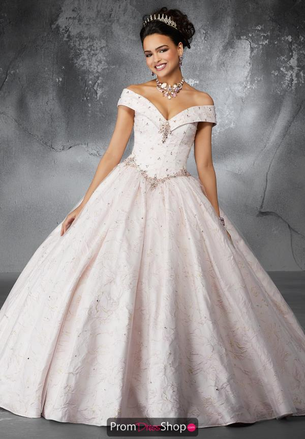 Valencia Quinceanera Lace Back Ball Gown 60051