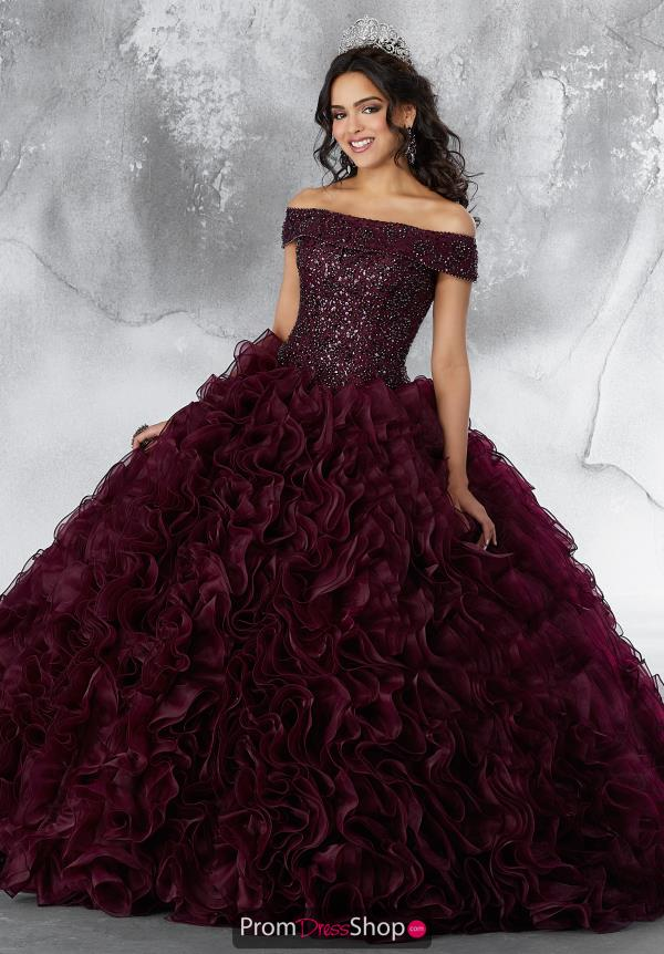 Vizcaya Quinceanera Off the Shoulders Ball Gown 89182