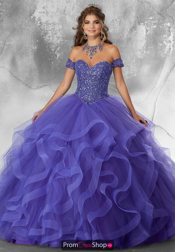 Vizcaya Quinceanera Beaded Ball Gown 89185