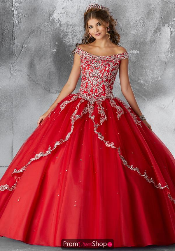 Vizcaya Quinceanera Tulle Skirt Ball Gown 89191
