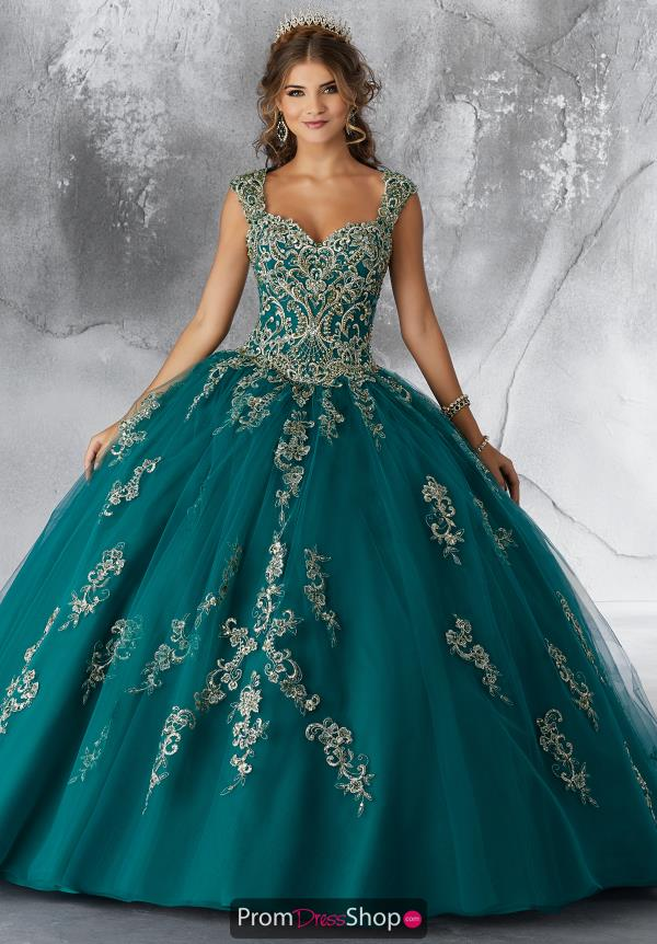 Vizcaya Quinceanera Tulle Skirt Ball Gown 89196