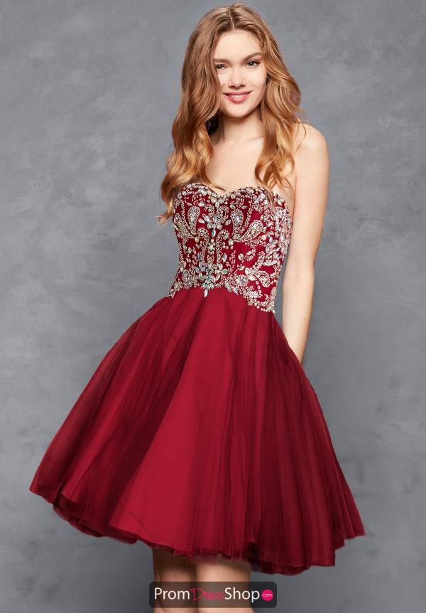Clarisse Beaded Sweetheart Dress S3012