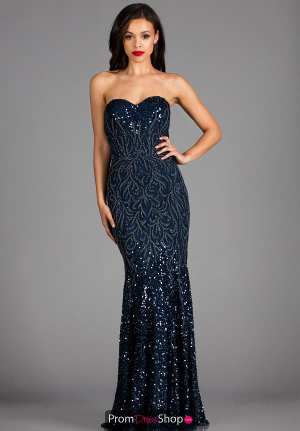 Scala Long Fitted Dress 48791