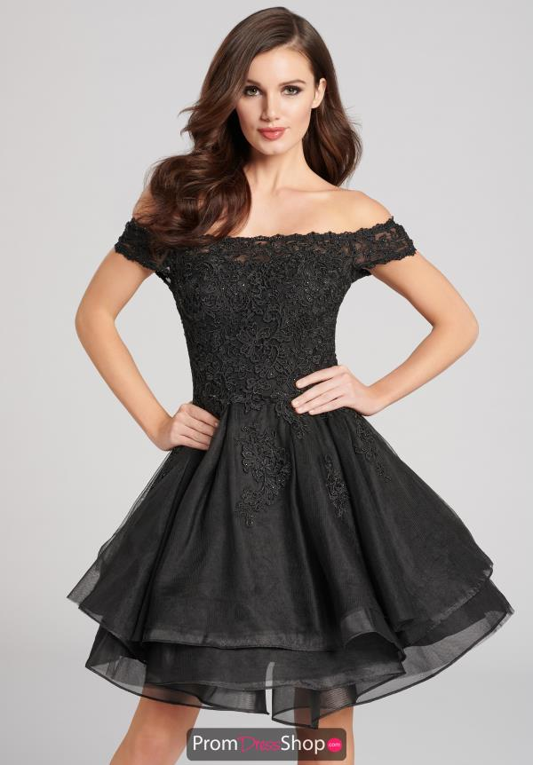 Ellie Wilde Ruffle Dress EW21811S