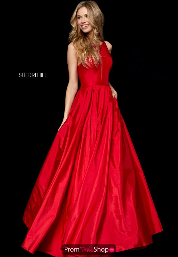 Sherri Hill Long A-line Gown 52121