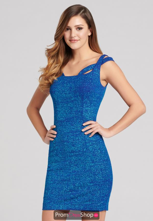 Ellie Wilde Short Fitted Dress EW21803S