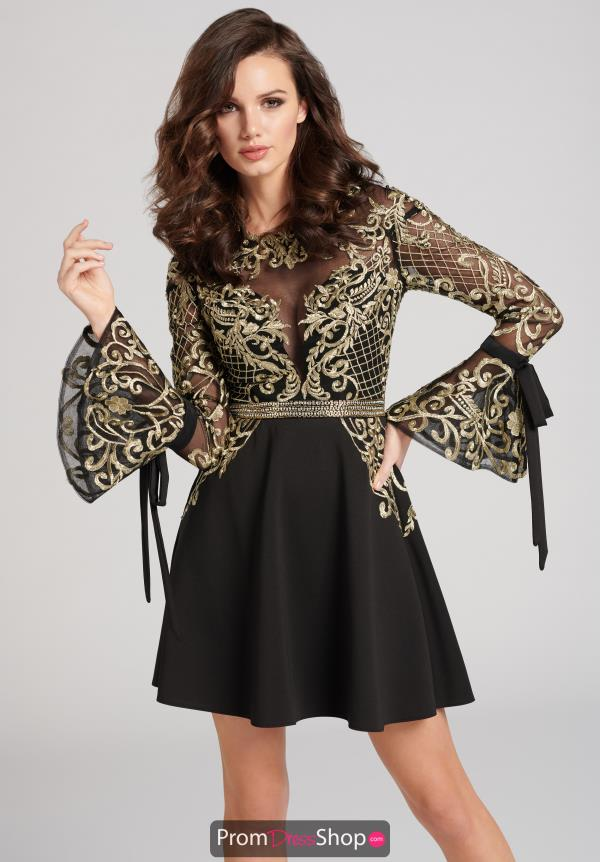 Bell Sleeve Ellie Wilde Dress EW21823