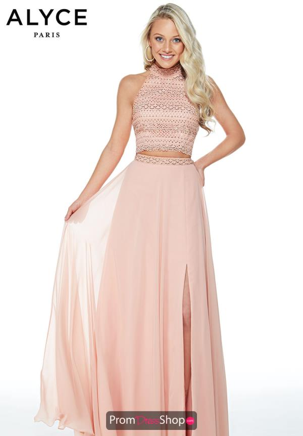 Alyce Paris Long Two Piece Dress 60255