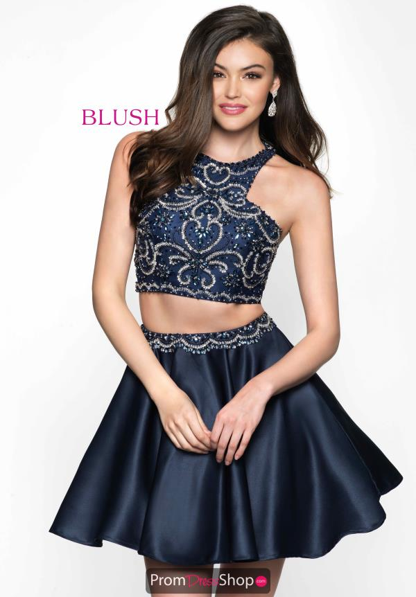 Blush Dress Two Piece 11607