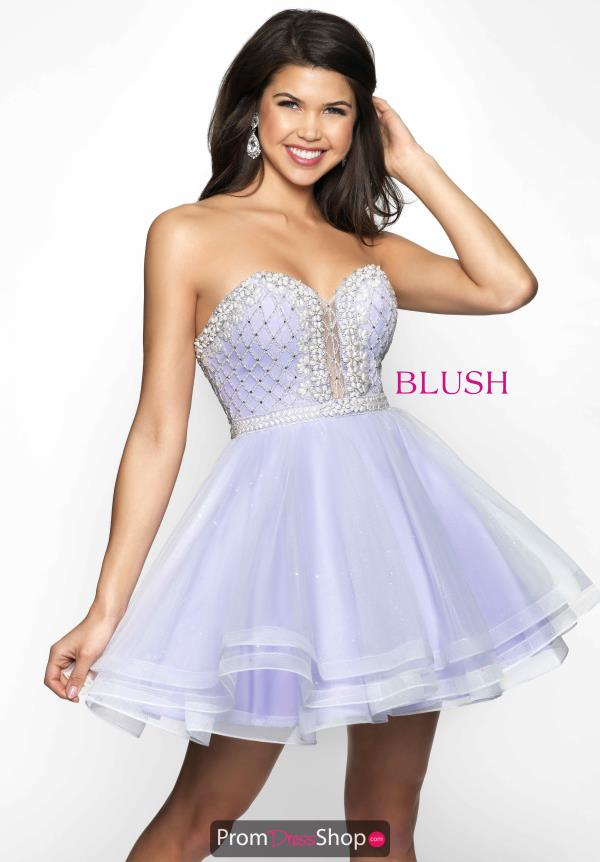 Sweetheart Blush Dress 11622