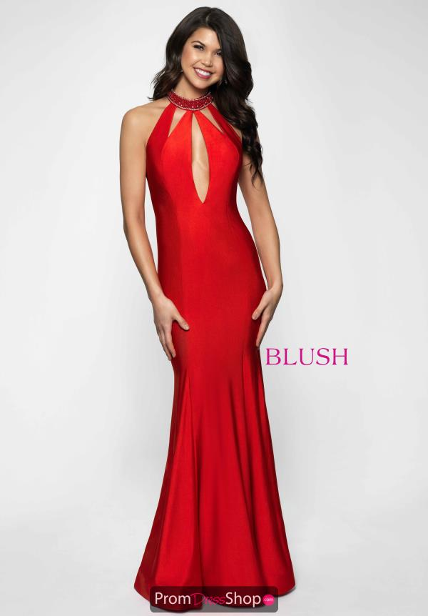 Fit and Flare Blush Dress 11651