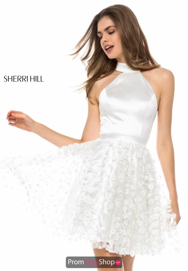 Sherri Hill Short A Line Dress 51835