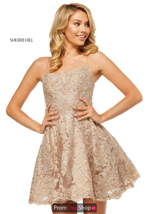 Sherri Hill Short A Line Dress 52512