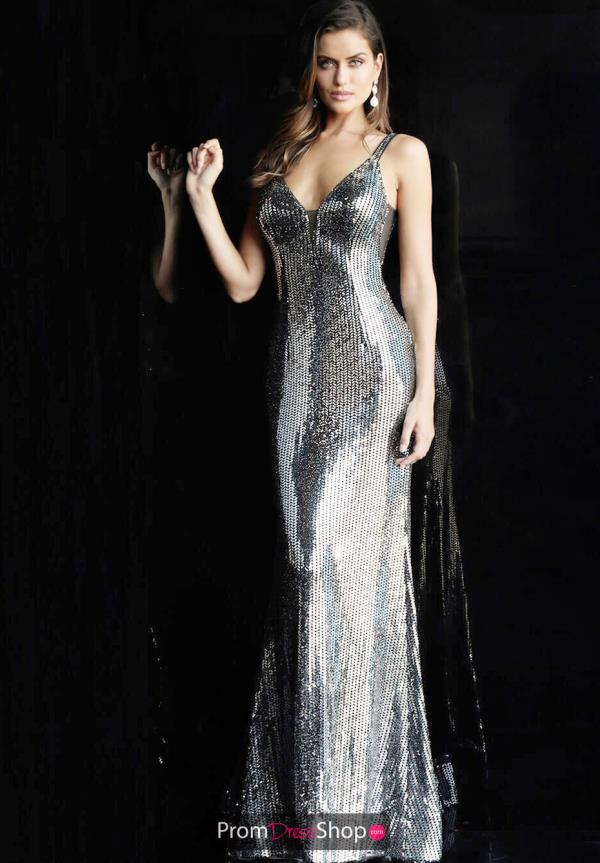 Jovani Sequins Long Dress 63511