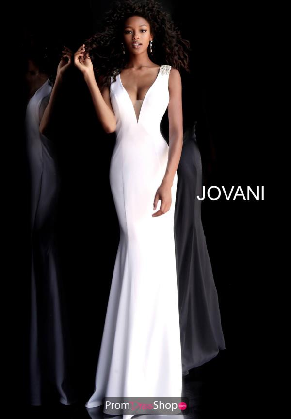 Jovani Sexy Back Long Dress 66089