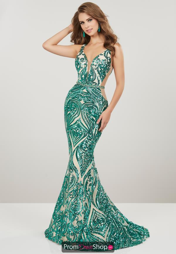 Panolply Fitted Sequined dress 14916