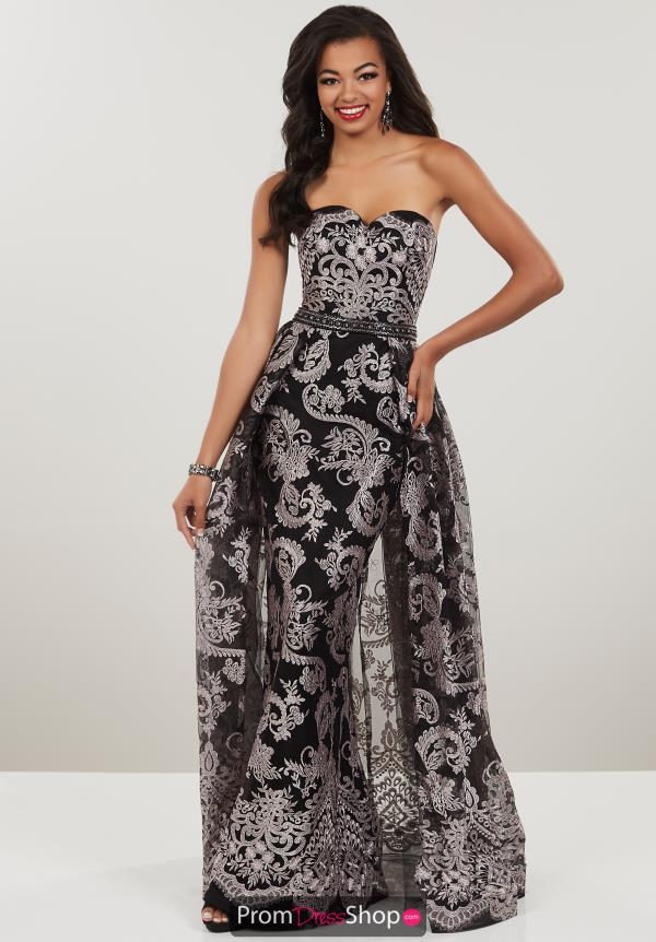 Panoply Strapless Overlay Dress 14937