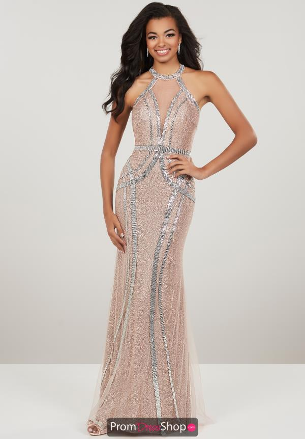 Panoply High Neck Fitted Dress 14949