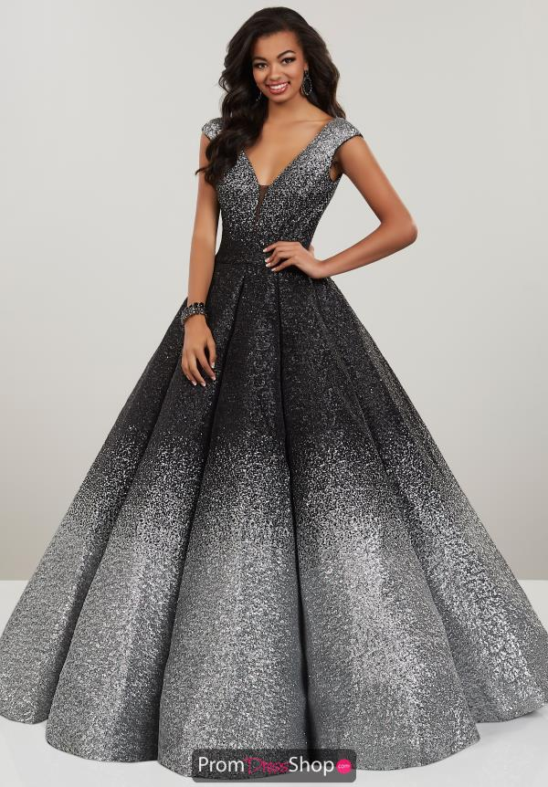 Panoply Ombre Sequin A-Line Gown 14961