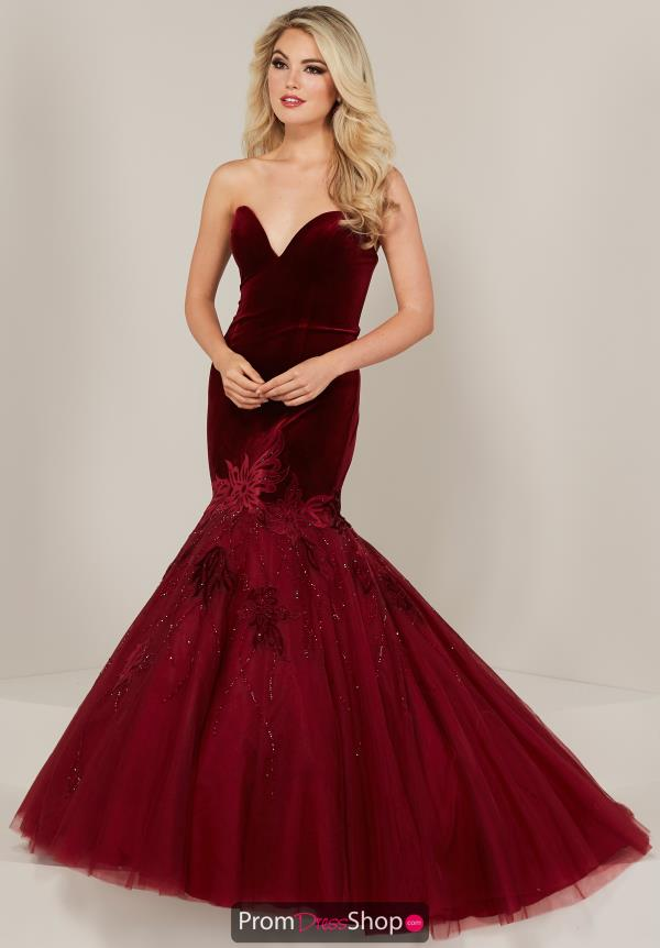 Tiffany Velvet Mermaid Dress 16330