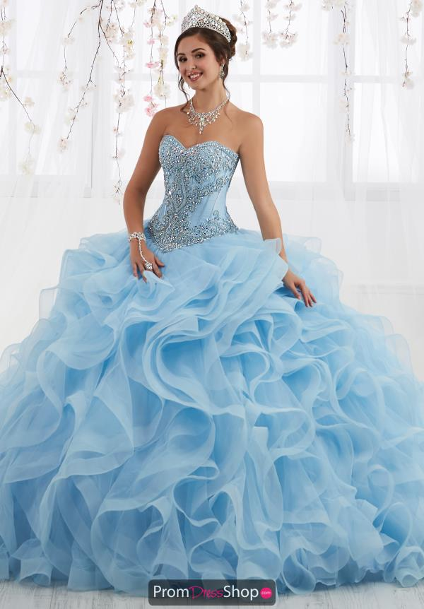 Tiffany Quinceanera Ruffled Skirt Ball Gown 26916