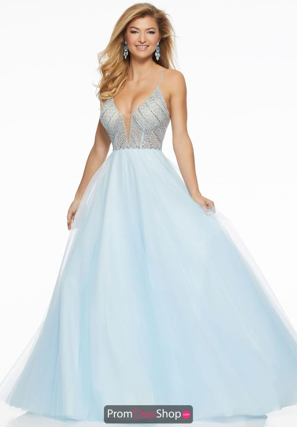 Mori Lee Full Figured Long Dress 43013