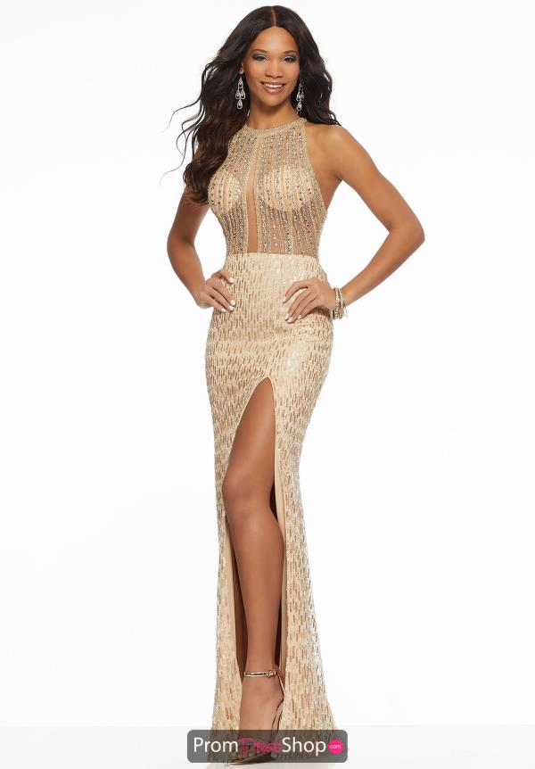 Morilee Beaded Fitted Dress 43109