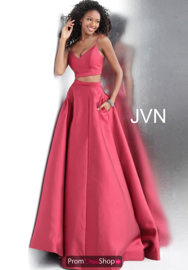 JVN by Jovani Two Piece A Line Dress JVN59636