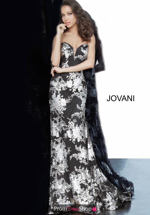 Jovani Fitted Mermaid Dress 02475