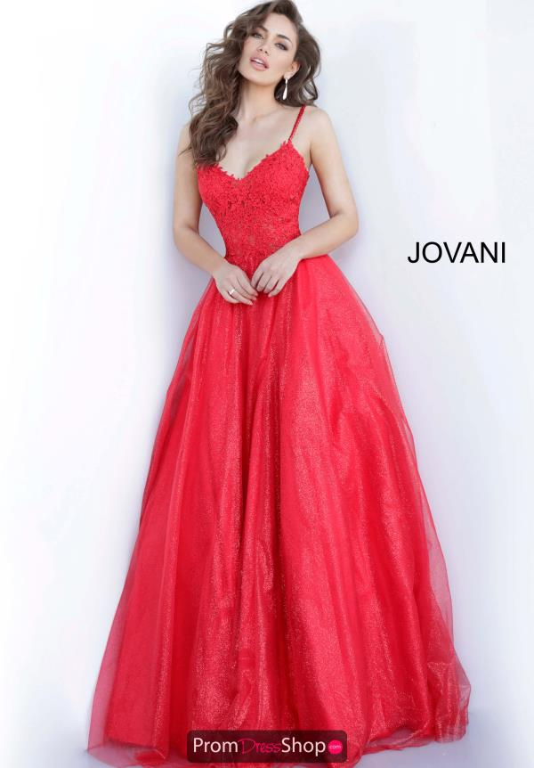 Jovani Ball Gown Applique Dress 67051